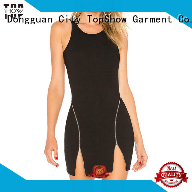 TopShow newly lace mini dress woman factory price