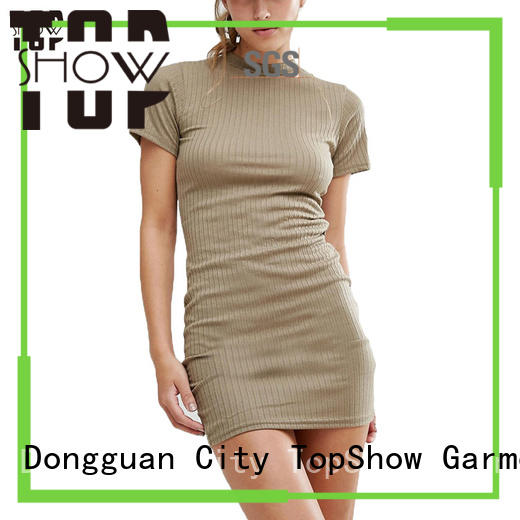 TopShow Summer bodycon dress styles bulk production for travel