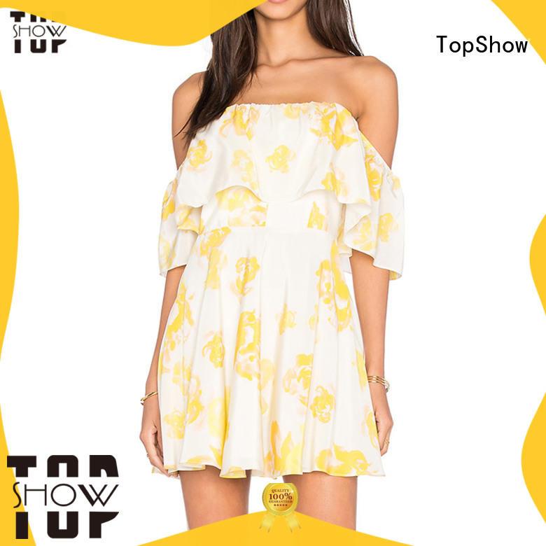 High-quality v neck mini dress vendor party wear