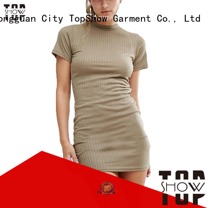 TopShow charming fitted mini dress order now with good price