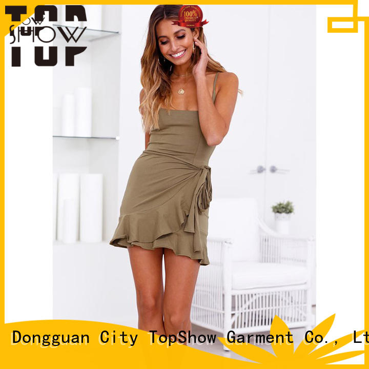 TopShow ladies bodycon dresses supplier from China