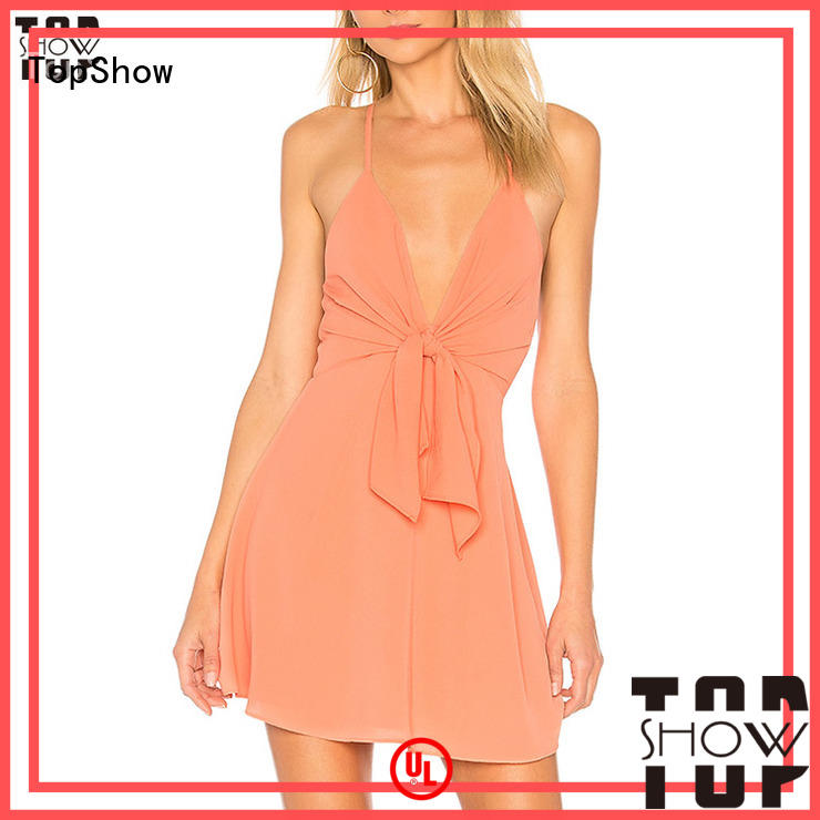 TopShow bodycon mini dress factory price for girls