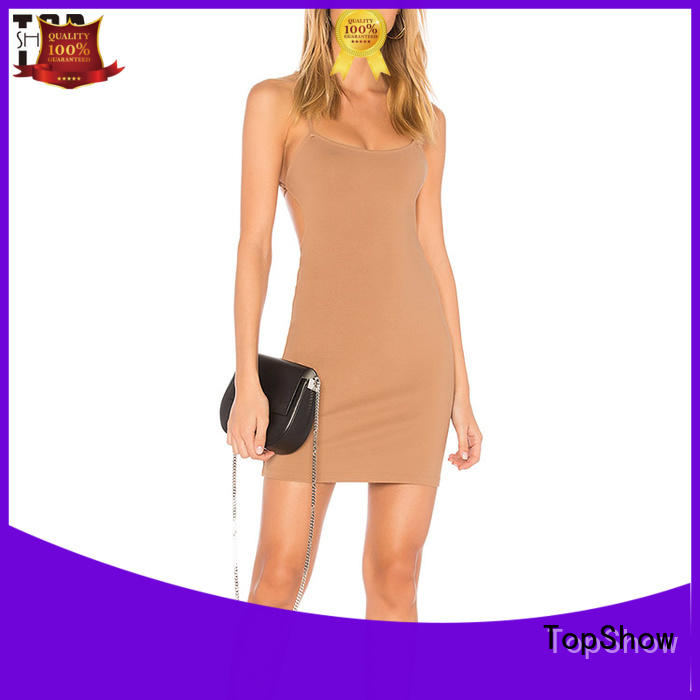 basic bodycon dress ladies for woman TopShow