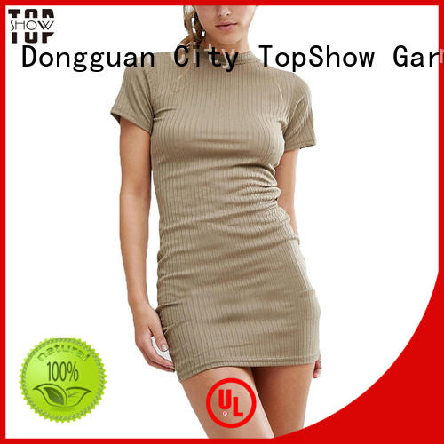 TopShow Sexy backless bodycon dress factory price from China