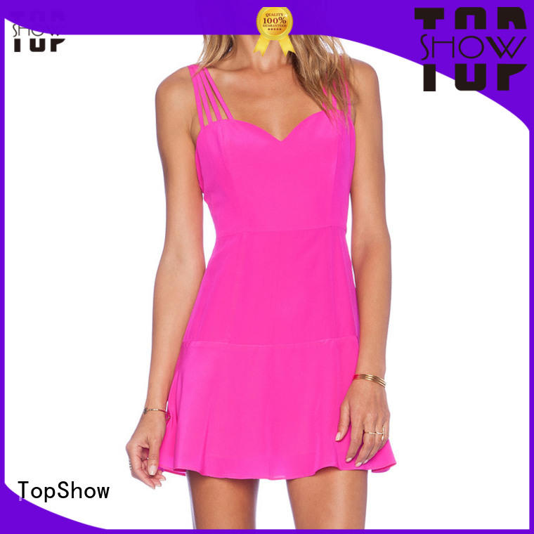 TopShow basic bodycon dress producer for travel