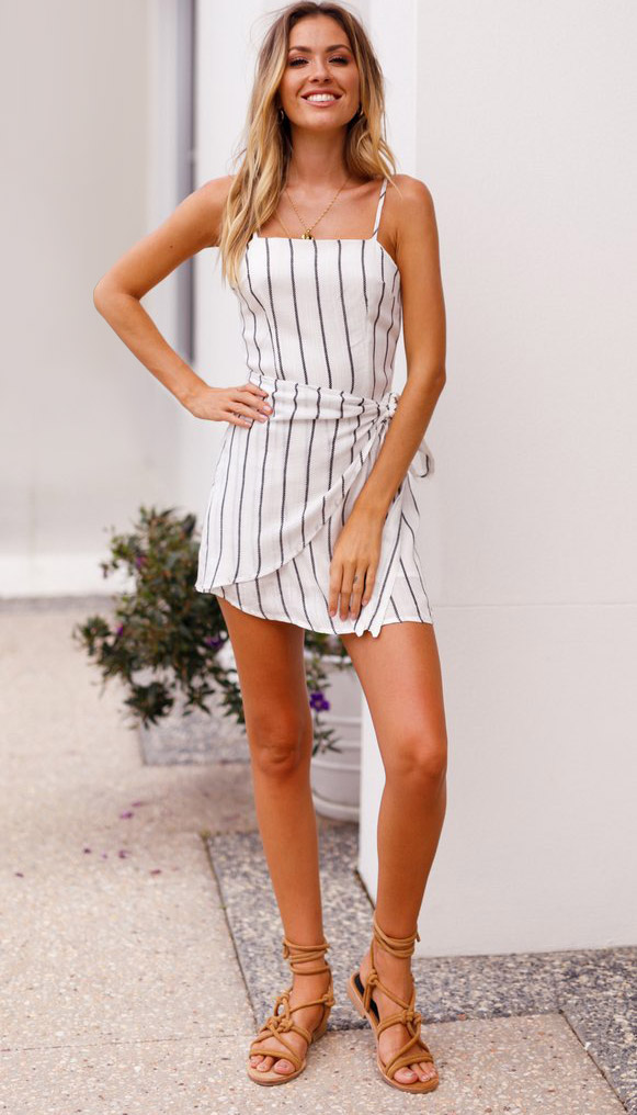 TopShow perfectly matching simple bodycon dress at discount factory price-3