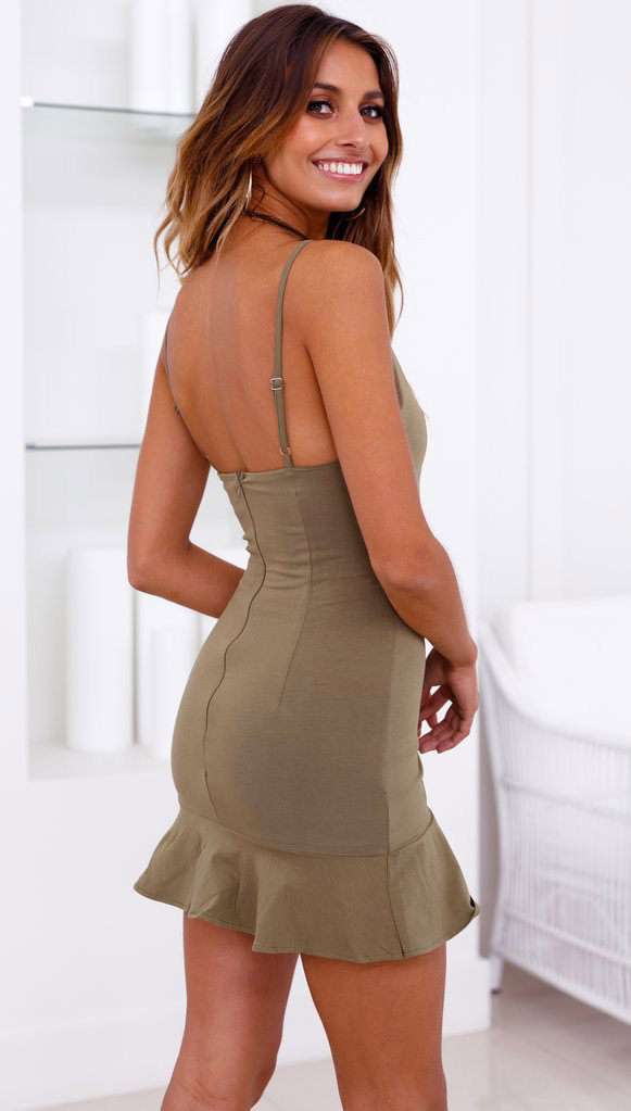 charming backless bodycon dress bulk production for female-4