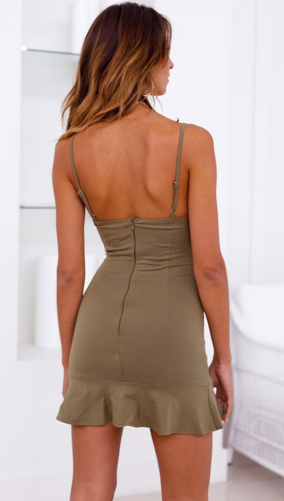 charming backless bodycon dress bulk production for female-5