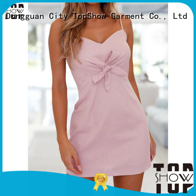 TopShow pink and red dress from manufacturer for woman