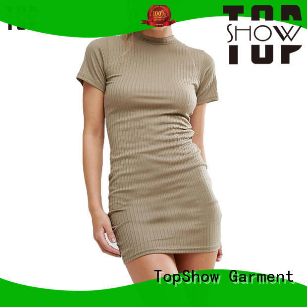 TopShow long sleeve bodycon dress at discount
