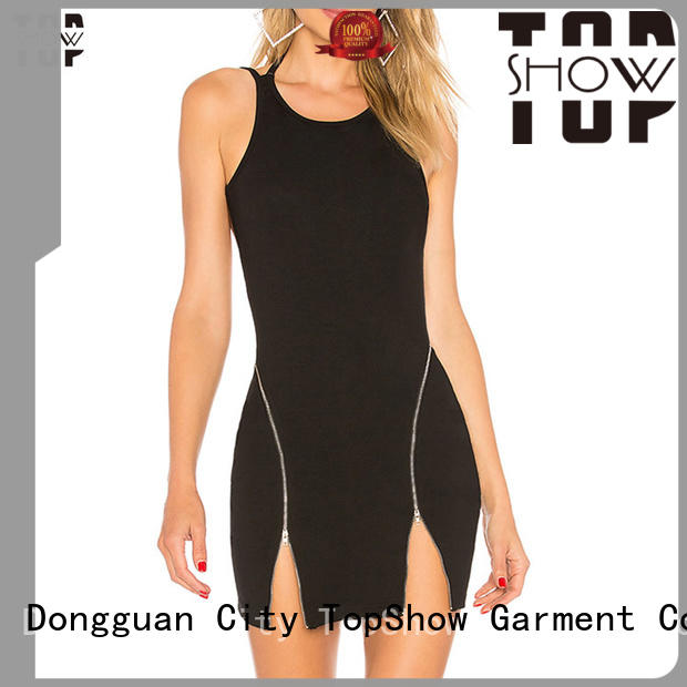 TopShow Sexy summer mini dress long-term-use for travel