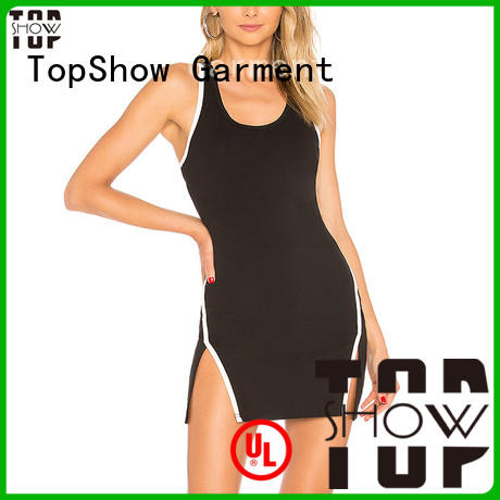 TopShow backless mini dress producer daily wear