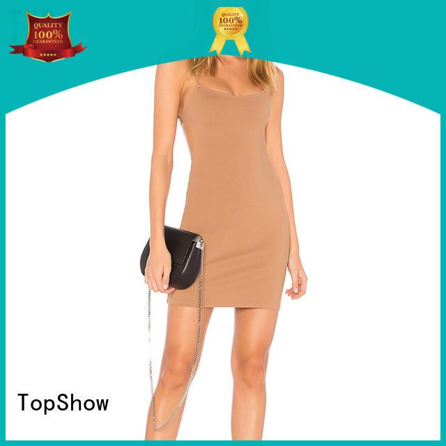 Hot quality dress customization ladies cutout TopShow Brand