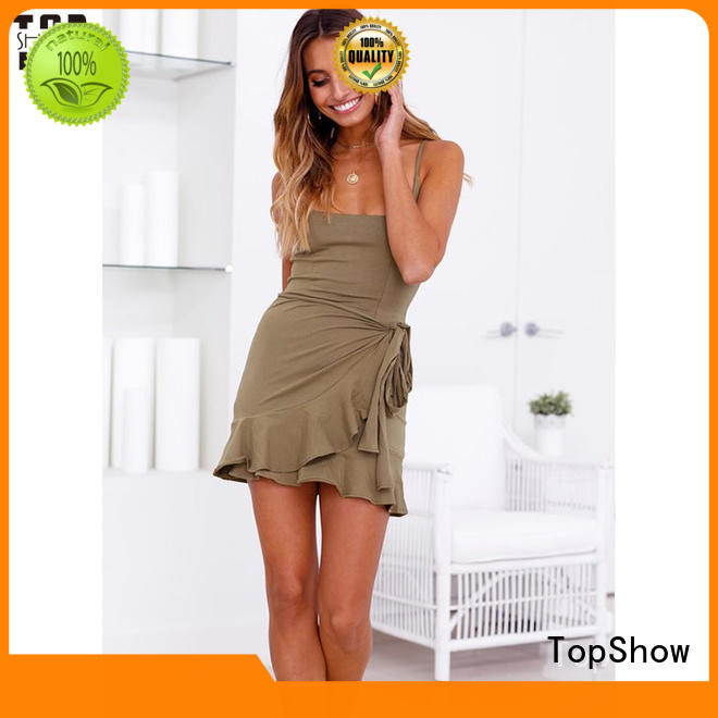 TopShow perfectly matching custom womens dresses free quote factory price