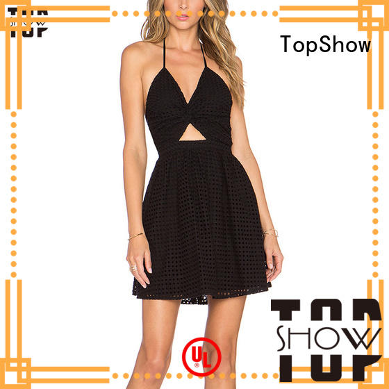 TopShow attractive simple bodycon dress supply for cosmetics