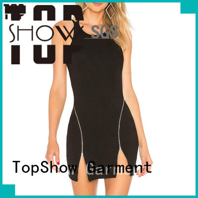 Oem quality fitted mini dress free quote party wear