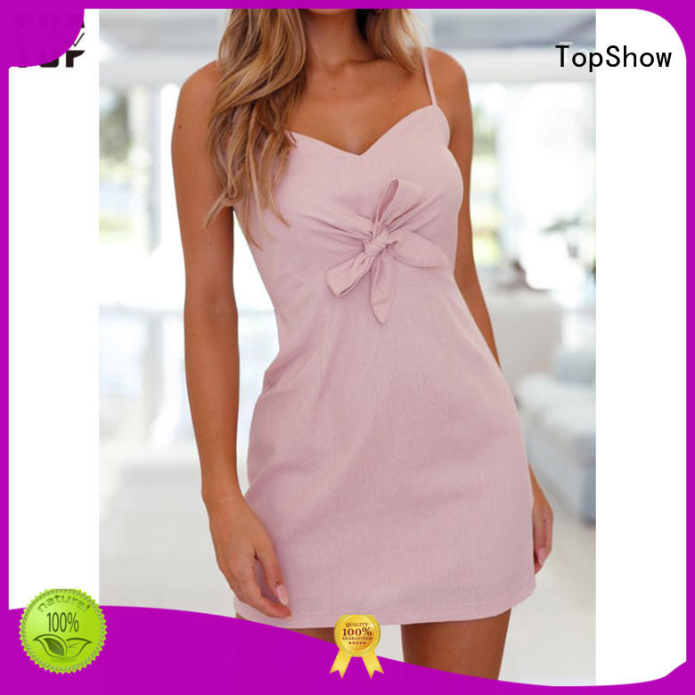 TopShow womens short dress fashion bulk production from China