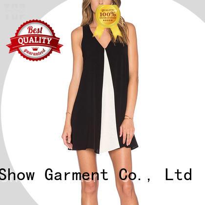 denim mini dress shoulder factory price TopShow