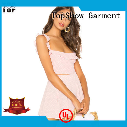 TopShow irresistible v neck halter dress ruched daily wear