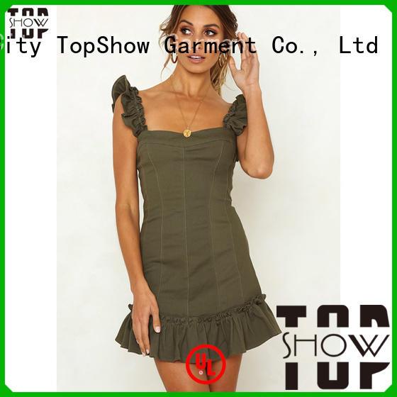 TopShow spring bodycon dresses vendor for girls