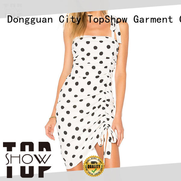 TopShow ladies bodycon dresses certifications factory price