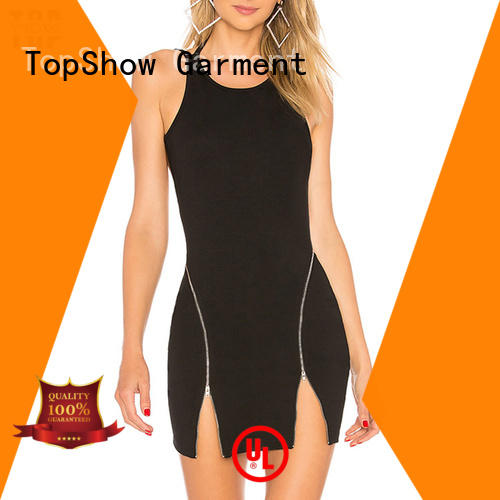 TopShow hot-sale womens halter dress oem with many colors