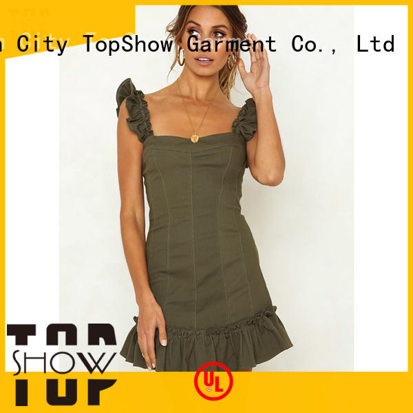 knot strapless mini dress for wholesale for business trip TopShow