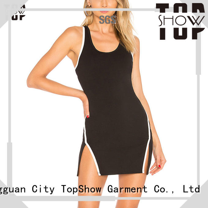 TopShow Latest denim mini dress widely-use for woman