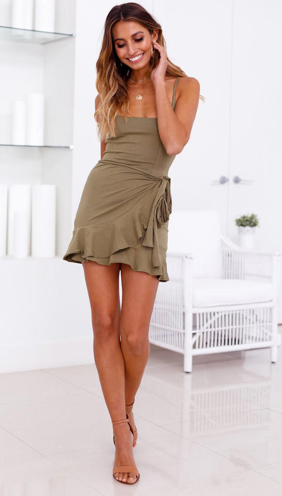 TopShow cute mini dresses for wholesale with many colors-2