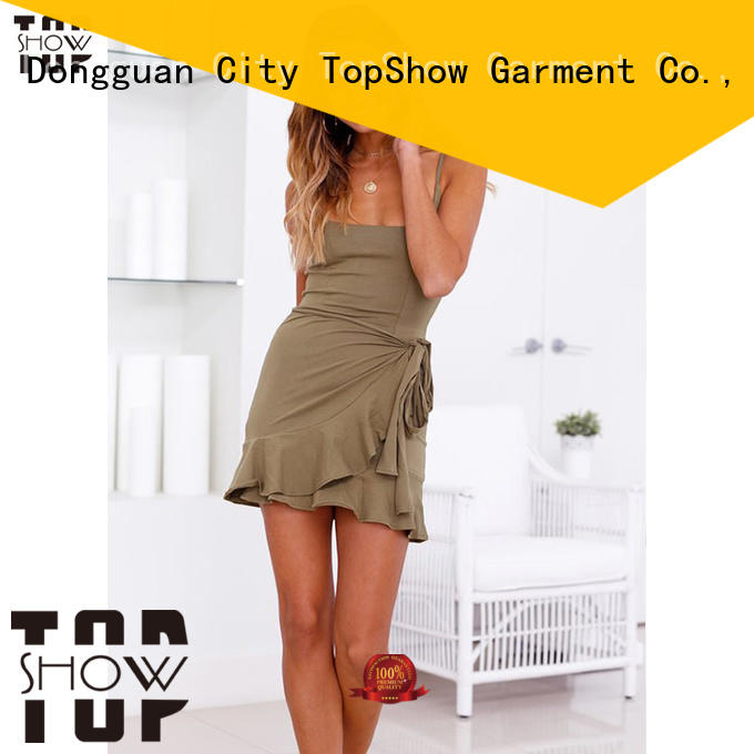TopShow cute mini dresses for wholesale with many colors