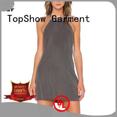 cross splits side TopShow Brand dress customization supplier