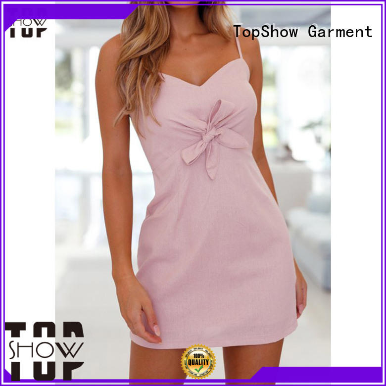 TopShow simple bodycon dress for business for cosmetics
