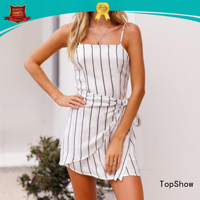 TopShow summer bodycon midi dress vendor for girls