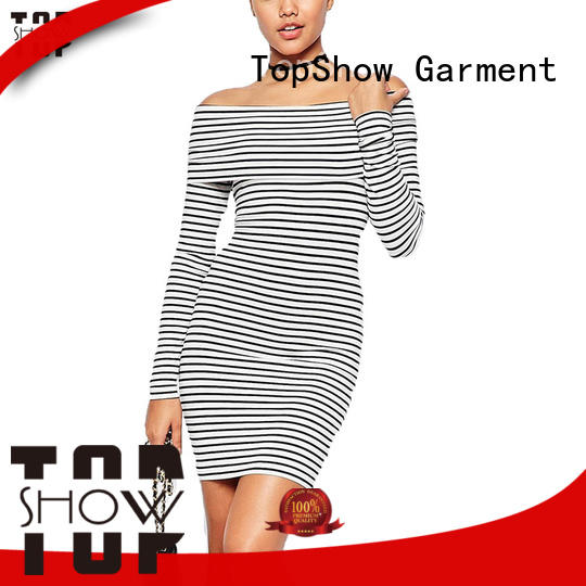 TopShow bodycon mini dress bulk production street wear