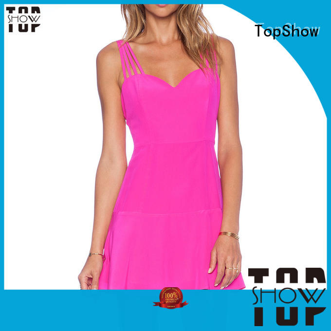 TopShow side wholesale custom clothing at discount for ladies
