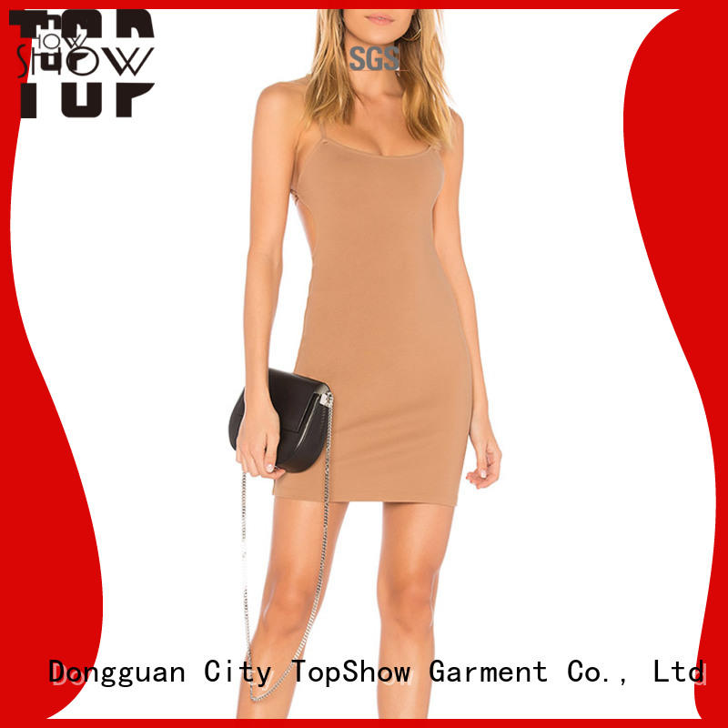 TopShow off the shoulder mini dress free design for shopping