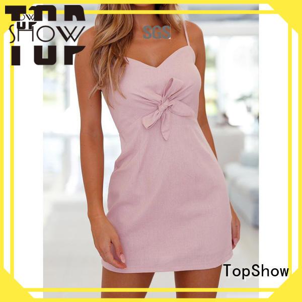 TopShow backless bodycon dress street wear