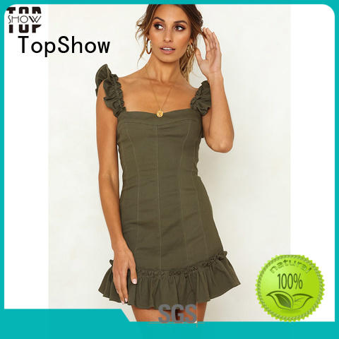 shoulder dress customization sexy party wear TopShow