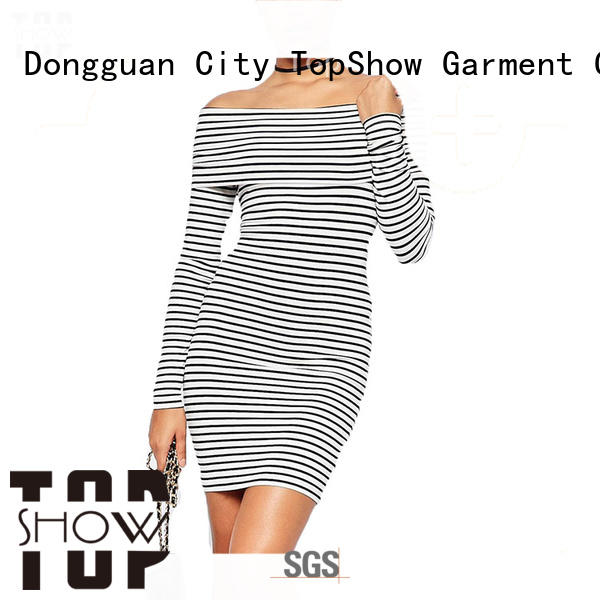 TopShow mini lace up dress for female