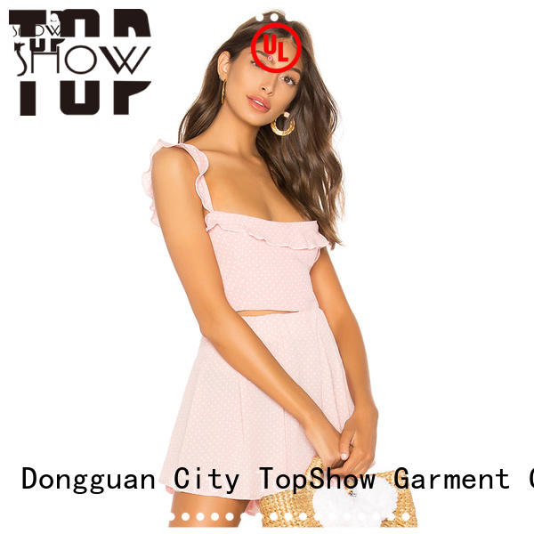 TopShow magnificent denim mini dress producer for business trip