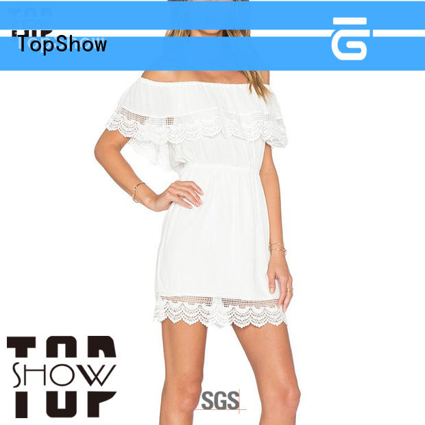 TopShow exquisite simple bodycon dress for cosmetics