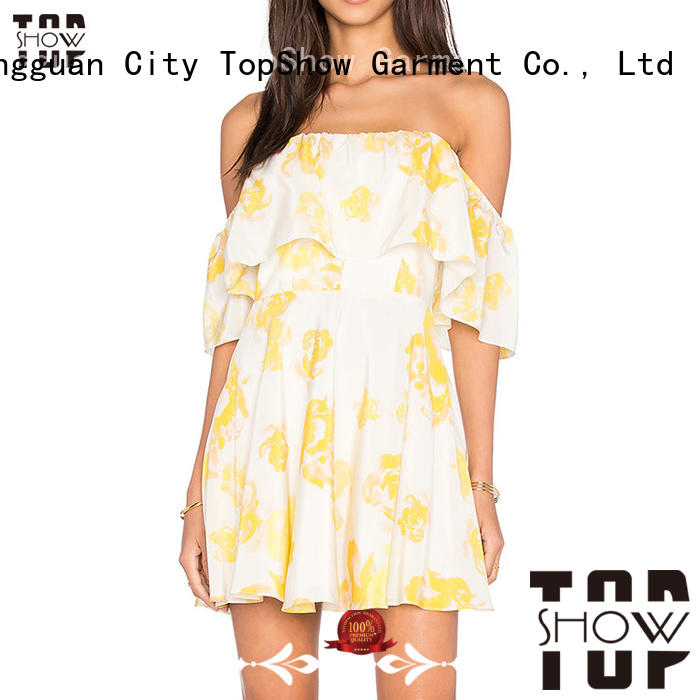 mini dress clubwear factory price from China TopShow