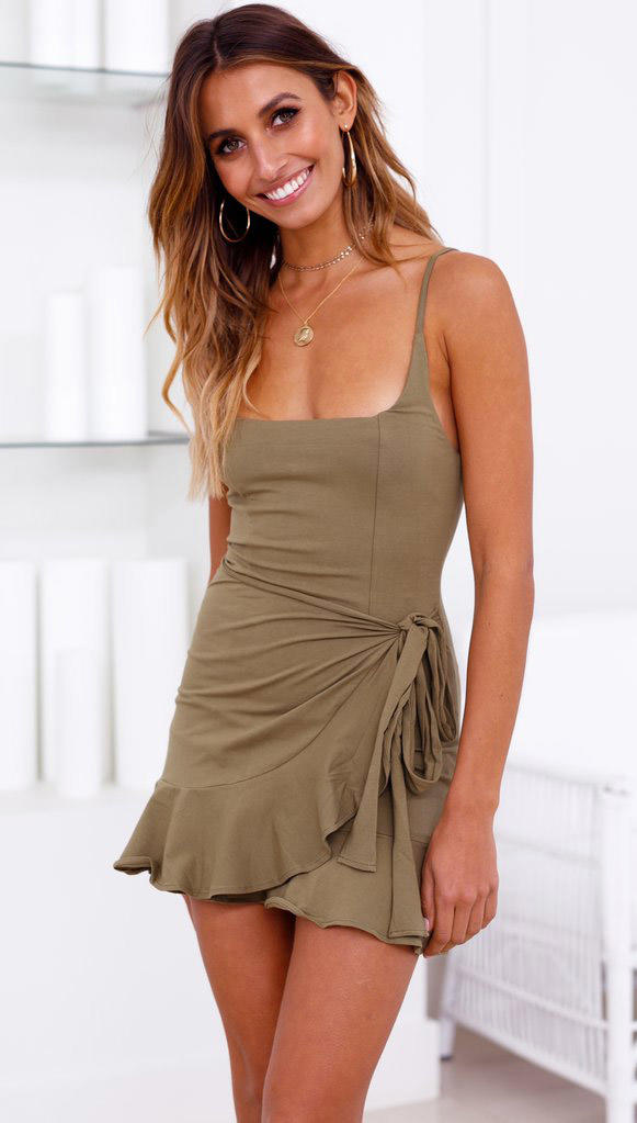 TopShow cute mini dresses for wholesale with many colors-3