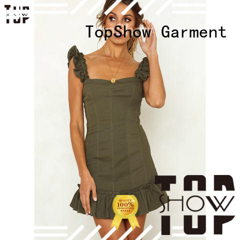 TopShow fine- quality halter mini dress buy now with many colors