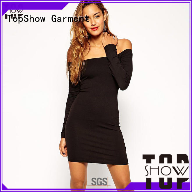TopShow Summer backless mini dress woman for shopping