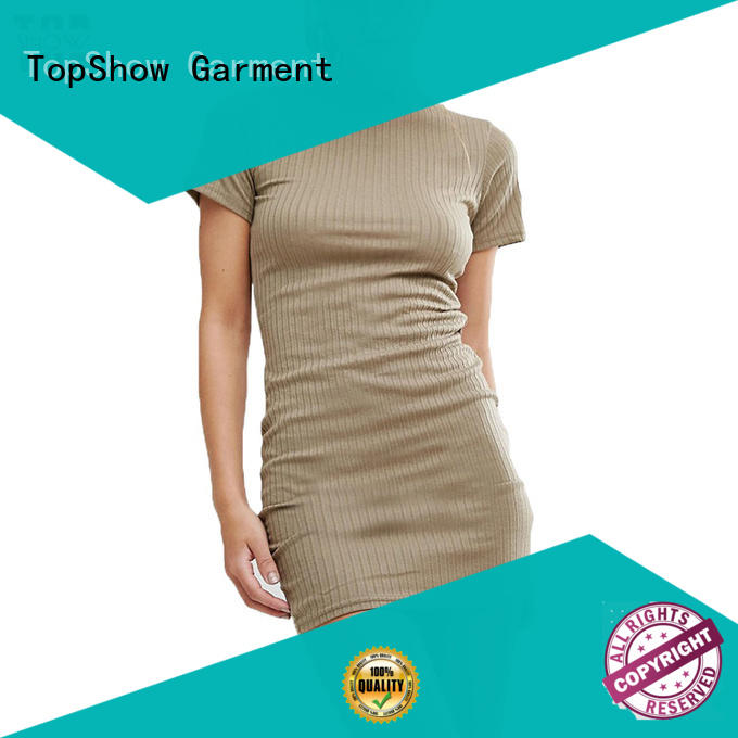 TopShow charming wholesale custom clothing certifications for party
