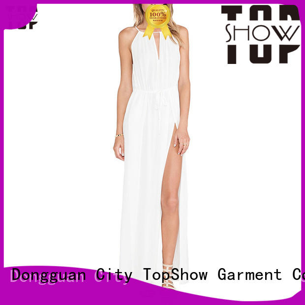TopShow Sexy mini lace up dress at discount with many colors