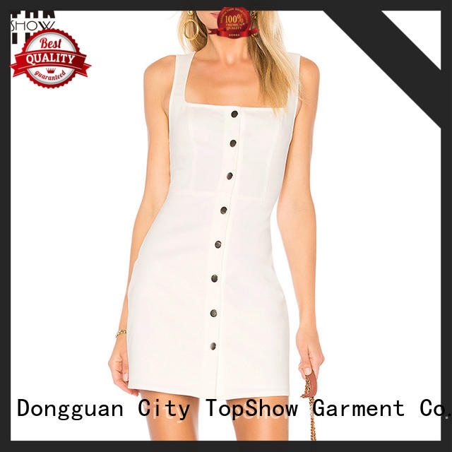 Oem quality womens halter dress producer for cosmetics TopShow