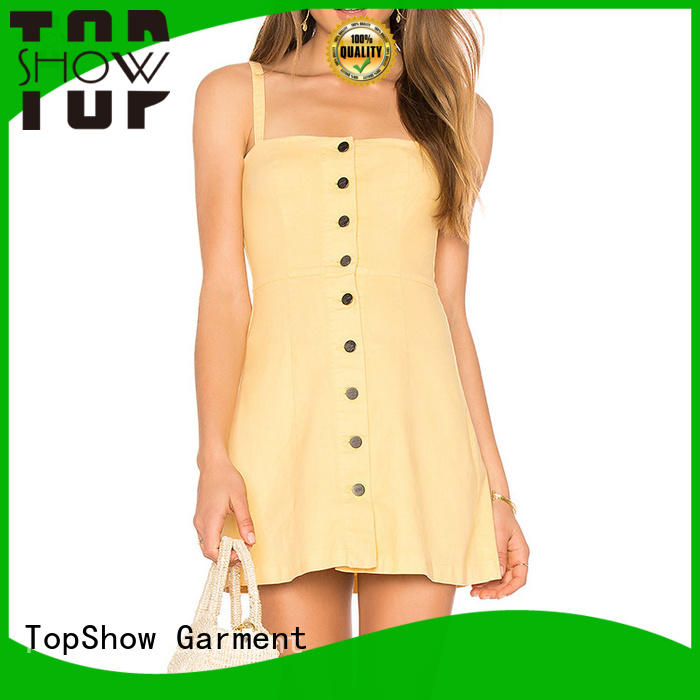 TopShow short mini dresses free design daily wear