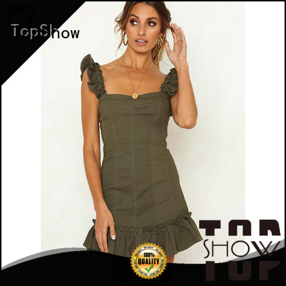 TopShow ladies sexy dress long-term-use with good price